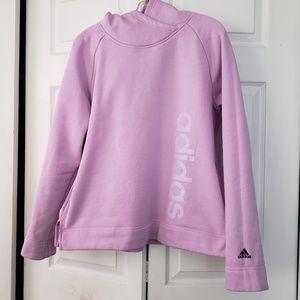 Lilac Adidas Hoodie